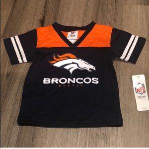 NFL Denver broncos football jersey kids size 2T